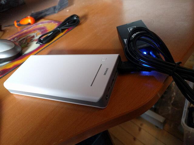 Power bank and HDMI-to-SDI converter